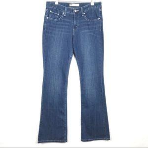 Levi's 518 Superlow Stretch Denim Boot Cut Jeans
